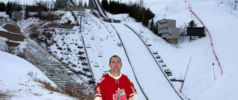 Ski jumping in a fight to survive in Canada